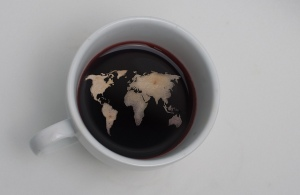 world coffee cup